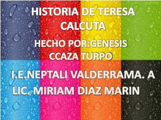 HISTORIA DE TERESA CALCUTA