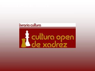 CULTURA OPEN DE XADREZ