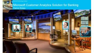MTC Moscow Microsoft Customer Analytics Solution for Banking