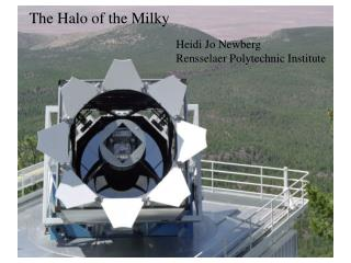 The Halo of the Milky