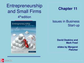 Issues in Business Start-up