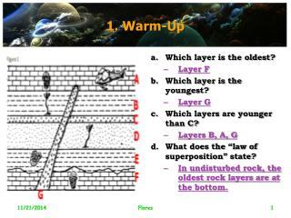 1. Warm-Up