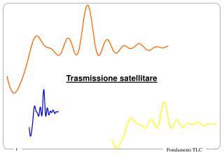 Trasmissione satellitare