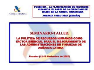 SEMINARIO-TALLER: