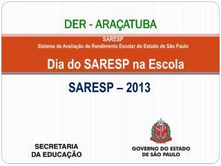 DER - ARAÇATUBA