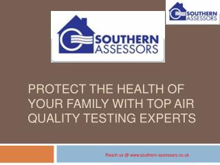 Protect the Health of Your Family With top Air Quality Testi