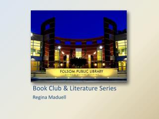 Book Club & Literature Series