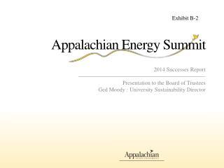 Appalachian Energy Summit