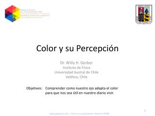 Color y su Percepción