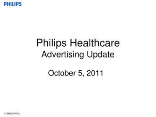 Philips Healthcare Advertising Update