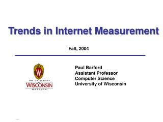 Trends in Internet Measurement