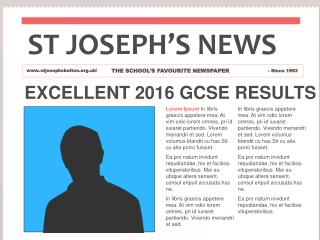 EXCELLENT 2016 GCSE RESULTS