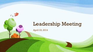 Leadership Meeting