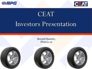 CEAT  Investors Presentation