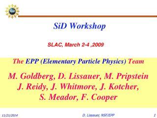 SiD Workshop