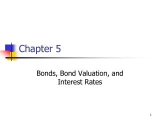 Topics 1: Interest rate risk
