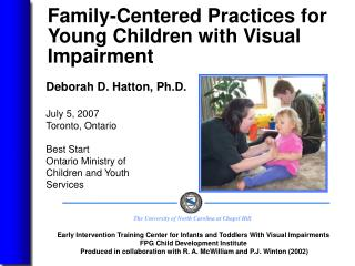 Family-Centered Practices for Young Children with Visual Impairment