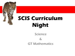 SCIS Curriculum Night