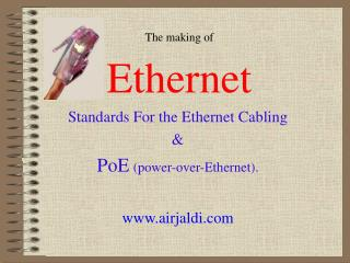 The making of Ethernet
