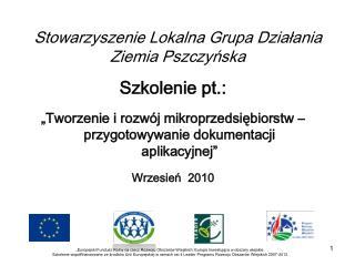 Stowarzyszenie Lokalna Grupa Działania Ziemia Pszczyńska