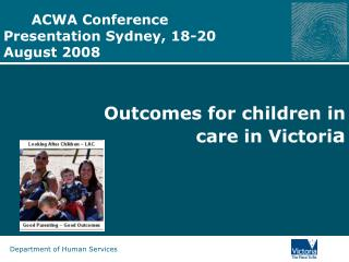 ACWA Conference Presentation Sydney, 18-20 August 2008