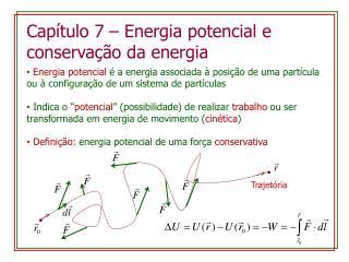 Capítulo  7 –  Energia potencial  e  conservação da energia