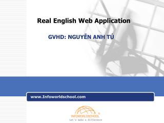 Real English Web Application