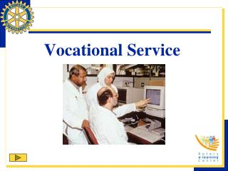 Vocational Service