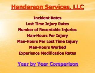 Henderson Services, LLC