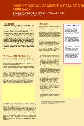 E. DUPONT, J.MARCEL, Q. PIERRE, A. THOMAS, F. PAUL, Hopital DUPONT Service radiologique Vienne