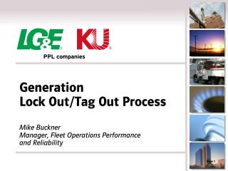 Generation  Lock Out/Tag Out Process
