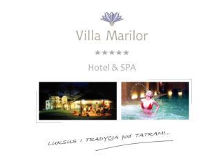 Pałac Villa Marilor Hotel