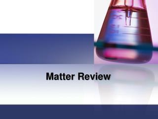 Matter Review