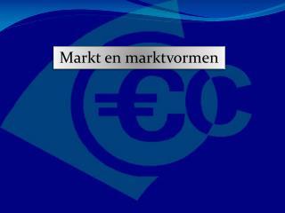 Markt  en  marktvormen