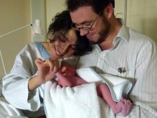 La petite  Anoucha Demarta est venue faire de notre couple une famille le 25 octobre 2012