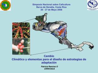 Cambio   Climático y elementos para el diseño de estrategias de adaptación