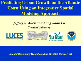 Predicting Urban Growth on the Atlantic Coast Using an Integrative Spatial Modeling Approach