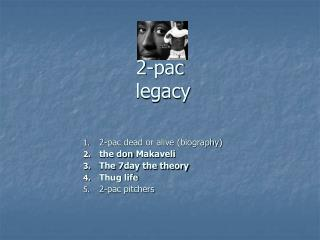 2-pac  legacy