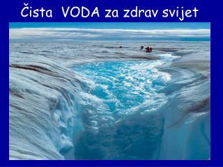 Čista  VODA za zdrav svijet