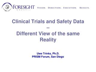 Clinical Data Management vs. Clinical Safety