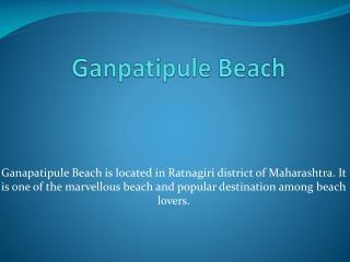 Ganpatipule Beach Maharashtra