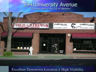 1941University Avenue