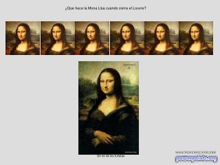 ¿Que hace la Mona Lisa cuando cierra el Louvre?