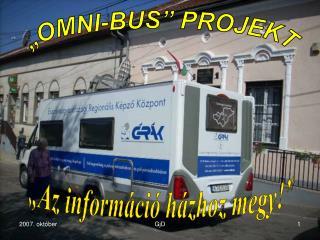 """OMNI-BUS"" PROJEKT"