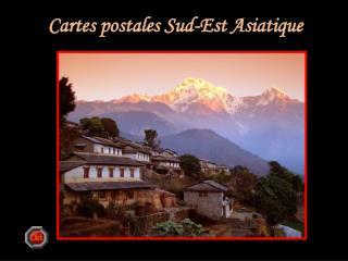 Cartes postales Sud-Est Asiatique