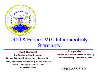 DOD  Federal VTC Interoperability Standards