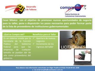 Para obtener más información comunícate con Edgar Trujillo al (722)2-79-28-50 Ext. 2235