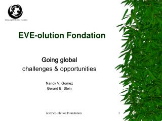 EVE-olution Fondation