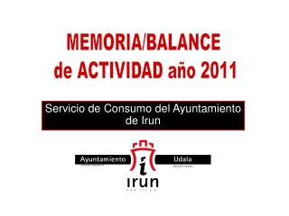 Servicio de Consumo del Ayuntamiento de Irun