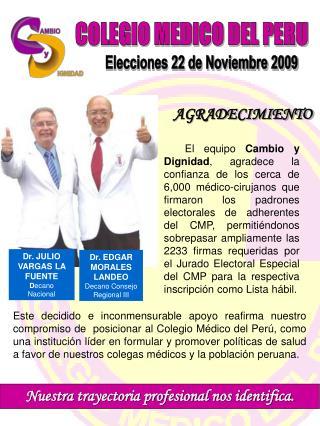 COLEGIO MEDICO DEL PERU
